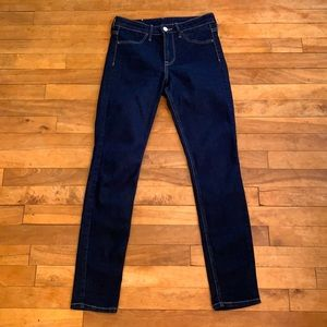 4/$40 - H&M Skinny Ankle Jeans in blue wash - 25